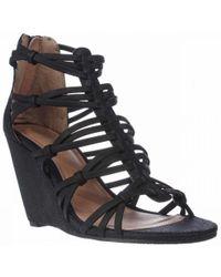 MIA - Dylon Wedge Strappy Sandals - Lyst