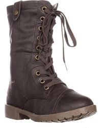 Wanted - Colorado Knit Combat Boots - Lyst