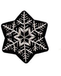 Macon & Lesquoy - Snowflake Pin - Lyst