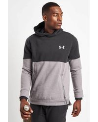 Under Armour - Threadborne Hoodie-black/grey - Lyst
