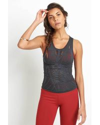 Alo Yoga | Vixen Fitted Muscle Tank | Lyst