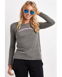 Good Hyouman - Suzanne L/s Nothing Decaf Crew - Lyst