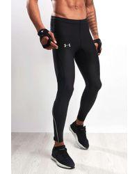 f8960753be368 Lyst - Under Armour Heatgear® Flyweight Run Pant in Black for Men