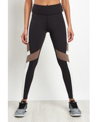 Reebok - Lux Colour Block High-rise Tight - Lyst