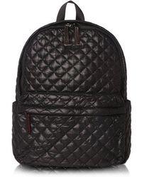 MZ Wallace - Medium Metro Backpack - Black Oxford - One Size Black Women's Backpack In Black - Lyst