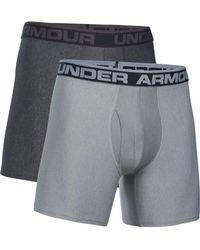 "Under Armour - Original Series 6"" Boxerjock 2 Pack - Lyst"