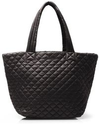MZ Wallace - Quilted Black Medium Metro Tote - Lyst