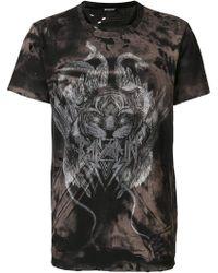 Balmain | Tiger Print T-shirt | Lyst