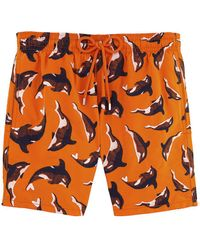 Vilebrequin - Mistral Dolphin Print Swim Shorts - Lyst