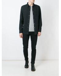 BLK DNM | Suede Shirt | Lyst