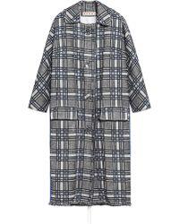 Marni - Lightweight Macro Tweed Coat - Lyst