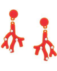 Yazbukey | Plexi Glass Earrings | Lyst