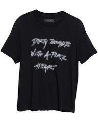Amiri - Dirty Thoughts T-shirt - Lyst
