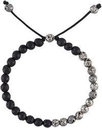 M. Cohen - Lava Stone Bead Bracelet - Lyst