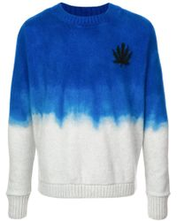 The Elder Statesman - Hemp Leaf Jumper - Lyst