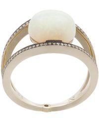 Noor Fares | Opal Rhombus Ring | Lyst