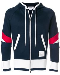 Thom Browne - Articulated Chunky Jersey Hoodie - Lyst