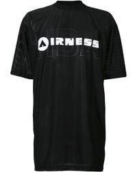 Hood By Air - X Airness Logo Print T-shirt - Lyst