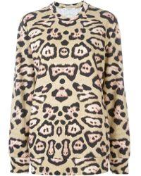 Givenchy - Leopard Print Sweatshirt - Lyst