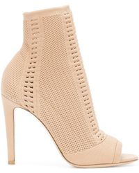 Gianvito Rossi - Leather High Heeled Pumps - Lyst