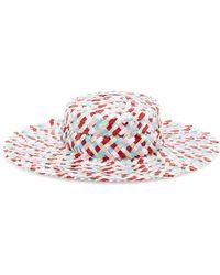 Gigi Burris Millinery - Multicolour Thea Boater Hat - Lyst