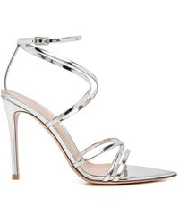 Gianvito Rossi - Metalic High Sandal - Lyst