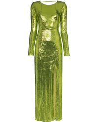 Galvan London - Adela Sequin Maxi Dress - Lyst