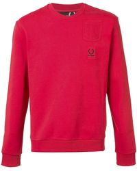 Fred Perry - Pocket Patch Sweatshirt - Lyst