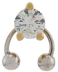 9353e79974512 Delfina Delettrez Gold Multi Pearl Earring in Metallic - Lyst