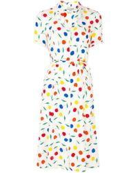 HVN Cherries Print Dress