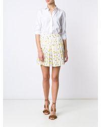 Piamita - Pleated Mini Skirt - Lyst