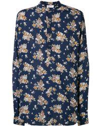Enfants Riches Deprimes - Floral Print Fluid Shirt - Lyst