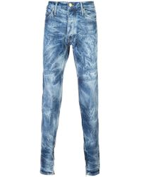 Fear Of God - Bleached Effect Slim-fit Jeans - Lyst
