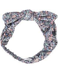 Maison Michel | Multicolor Floral Print Headband | Lyst