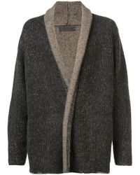 The Elder Statesman - Long-sleeve Fitted Cardigan - Lyst