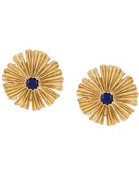 Aurelie Bidermann - Gold Sofia Earrings - Lyst