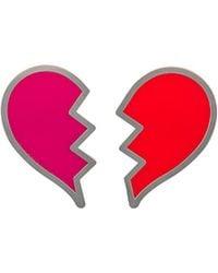 Yazbukey - Broken Heart Plexi Broach - Lyst