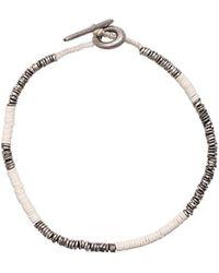 M. Cohen - White Beads Bracelet - Lyst
