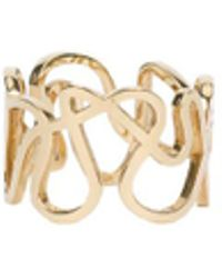 Repossi - Flat Gold Ring - Lyst