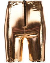Lisa Marie Fernandez Metallic Shorts