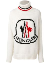 Moncler Gamme Rouge - Wool Highneck Sweater - Lyst