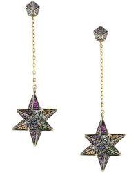 Noor Fares | Merkaba & Cone Dress Earring | Lyst