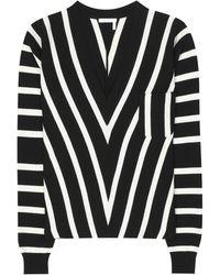 Chloé - Cotton Sweater - Lyst