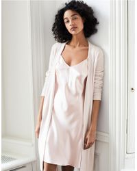 The White Company - Cashmere Short Robe - Lyst