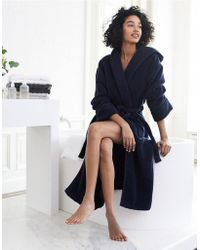 The White Company - Unisex Hooded Hydrocotton Robe - Lyst