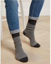 The White Company - Boot Socks With Cashmere - Lyst