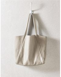The White Company - Leather Tote Bag - Lyst