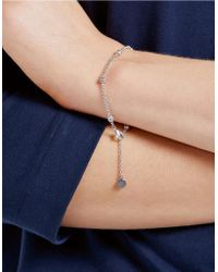 The White Company - Set Stone Chain Bracelet - Lyst