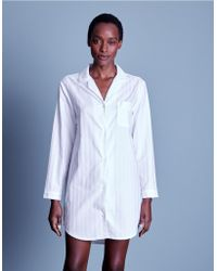 The White Company - Cotton Classic Nightshirt - Lyst