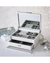 The White Company - Luxury Leather Jewelry Box - Lyst